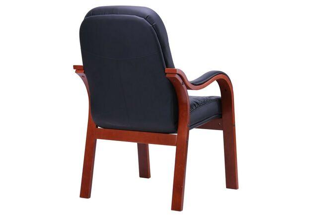 Кресло Буффало CF коньяк Кожа Люкс комбинированная черная - Фото №2