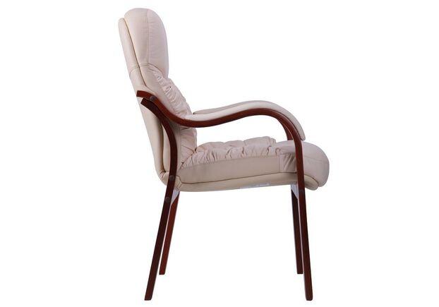 Кресло Буффало CF коньяк Кожа Люкс комбинированная ваниль - Фото №2