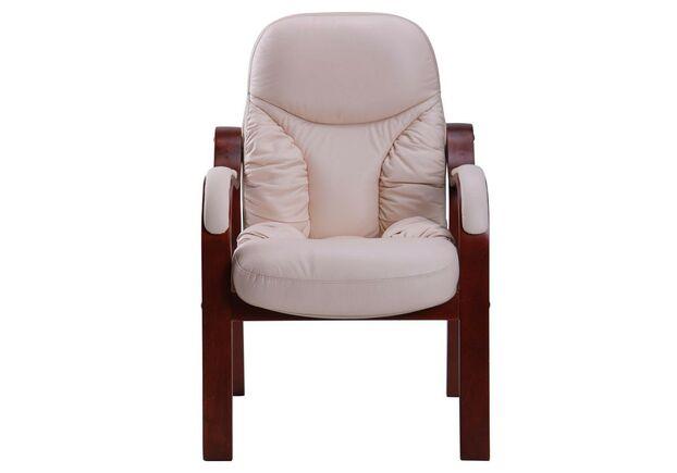 Кресло Буффало CF коньяк Кожа Люкс комбинированная ваниль - Фото №1