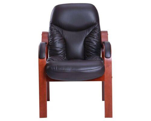 Кресло Буффало CF коньяк Кожа Люкс комбинированная темно-коричневая - Фото №1
