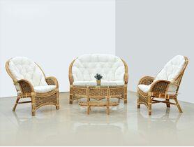 Ротанг, водный гиацинт, лум, тик - преимущества садовой мебели