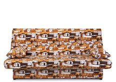 Диван Ньюс с двумя подушками ткань City brown