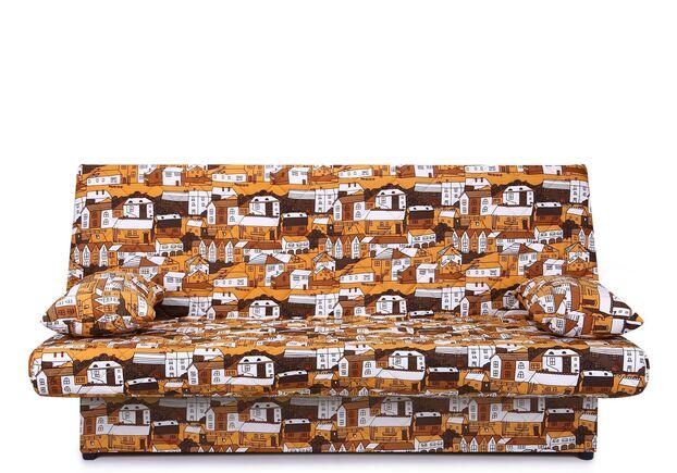 Диван Ньюс с двумя подушками ткань City brown - Фото №1