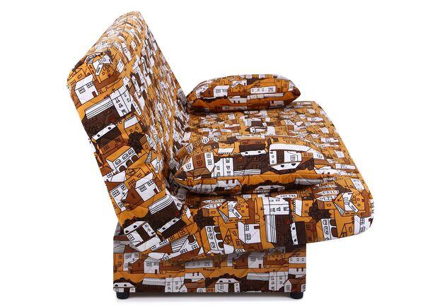 Диван Ньюс с двумя подушками ткань City brown - Фото №2