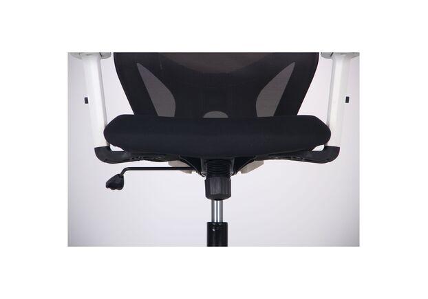 Кресло Lead White HR сиденье Нест-01 черная/спинка Сетка HY-100 черная - Фото №2