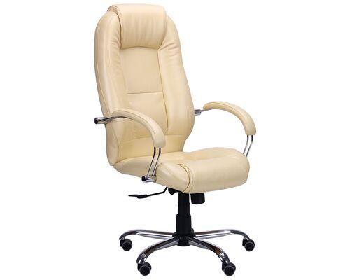 Кресло Надир Лайн Anyfix Мадрас ваниль - Фото №1