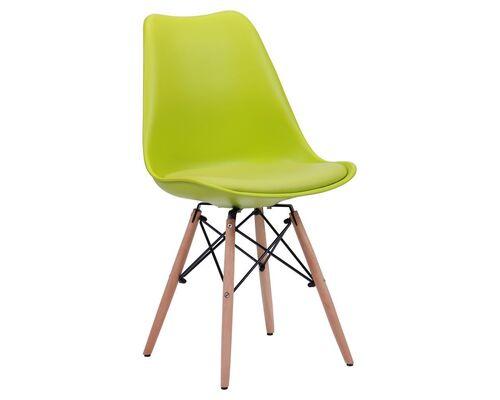 Стул Aster Wood Пластик светло-зеленый - Фото №1