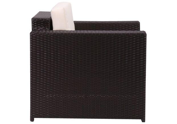Комплект мебели Santo из ротанга Elit (SC-B9508) Brown MB1034 ткань A13815 - Фото №2