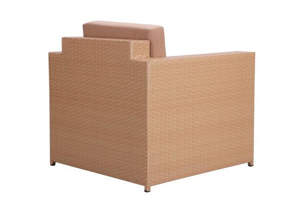 Комплект мебели Santo из ротанга Elit (SC-B9508) Sand AM3041 ткань A14203 - Фото №2