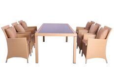 Фото Комплект мебели Samana-6 из ротанга Elit