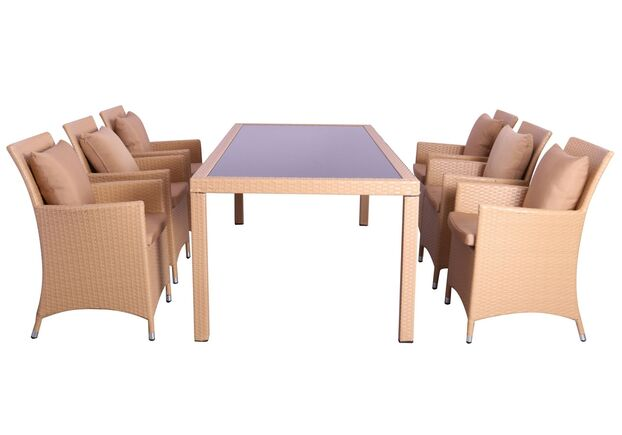 Комплект мебели Samana-6 из ротанга Elit  - Фото №1