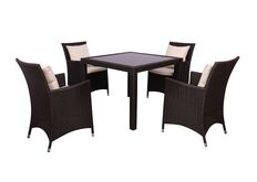 Фото Комплект мебели Samana-4 из ротанга Elit Brown