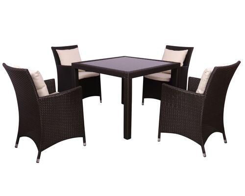 Комплект мебели Samana-4 из ротанга Elit Brown - Фото №1
