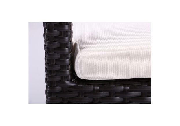 Комплект мебели Bavaro из ротанга Elit (SC-A7428) Brown MB1034 ткань A13815  - Фото №2