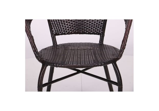 Кресло Catalina ротанг коричневый - Фото №2
