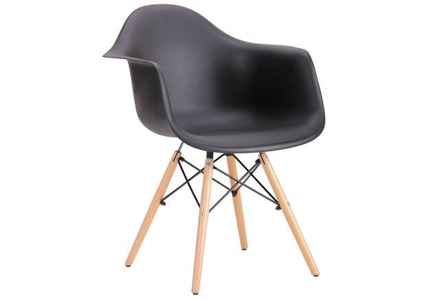 Кресло Salex PL Wood черный - Фото №1