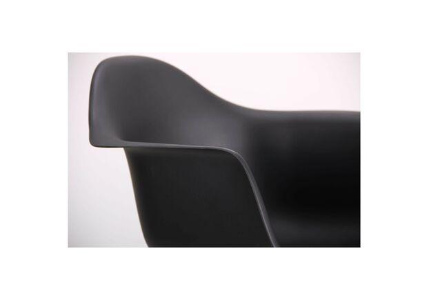Кресло Salex PL Wood черный - Фото №2