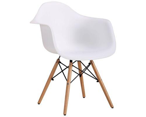 Кресло Salex PL Wood белый - Фото №1