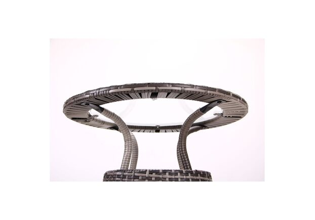 Стол Catalina ротанг серый - Фото №2