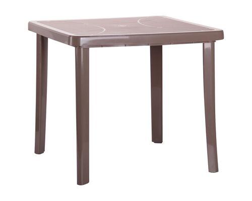 Стол Nettuno 80х80 см пластик тауп - Фото №1