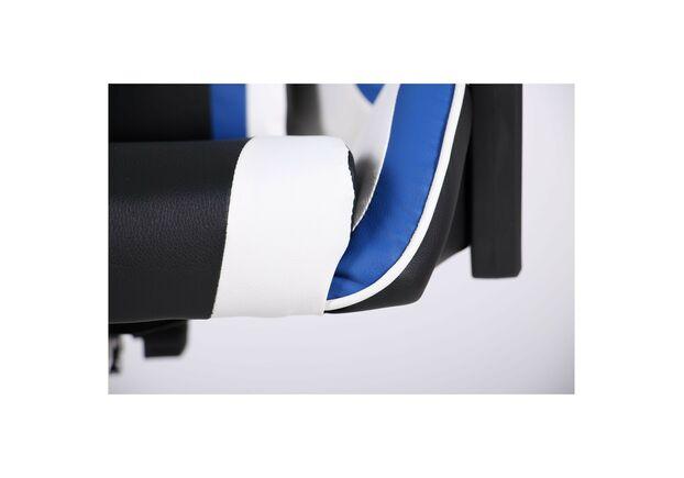 Кресло VR Racer Dexter Frenzy черный/синий - Фото №2