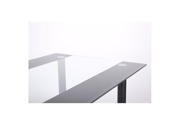 Стол Аттика черный/полоса антрацит - Фото №2