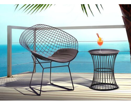 Стол Corella и стул Jaco черный - Фото №1