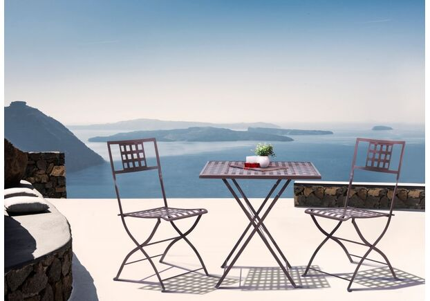 Стол Бретань и 2 стула Монмарт какао - Фото №2