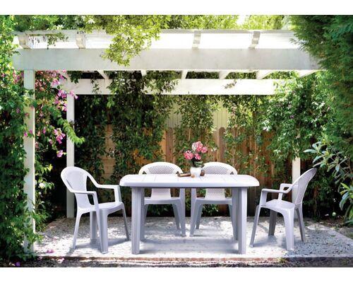 Стол Sorrento 140*80 и 4 стула Ischia белый - Фото №1