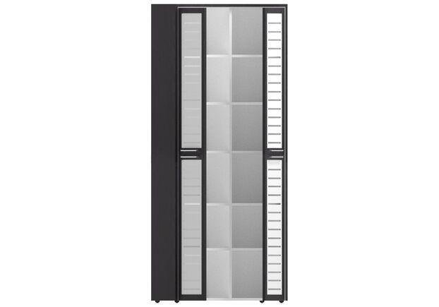 Шкаф книжный Оникс 900х400х2172 Венге прованс, стекло - Фото №2
