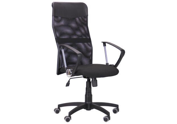 Кресло Ultra сиденье А-1/спинка Сетка черная, вставка Скаден черный - Фото №1