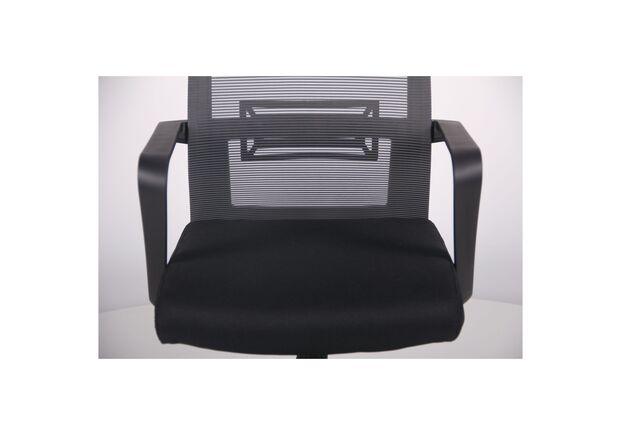 Кресло Neon HR сиденье Саванна nova Black 19/спинка Сетка серая - Фото №2