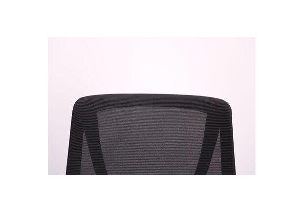 Кресло Nickel Black сиденье Сидней-07/спинка Сетка SL-00 черная - Фото №2
