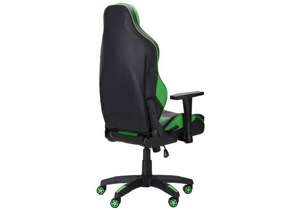 Кресло VR Racer Expert Champion черный/зеленый - Фото №2