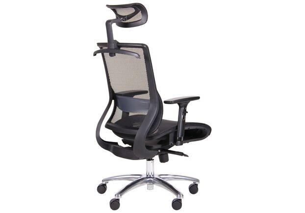 Кресло Coder Black Alum Black - Фото №2
