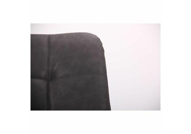 Стул барный Mobil черный/нубук базальт - Фото №2