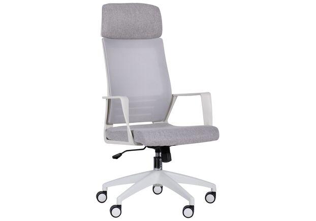 Кресло Twist white светло-серый   - Фото №1