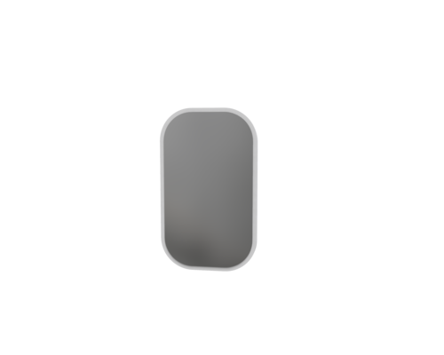 Зеркало SWAN  100 белый - Фото №1