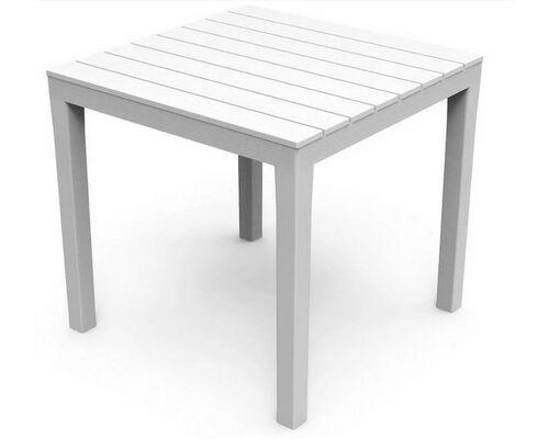Стол BALI 78x78x72 белый - Фото №1