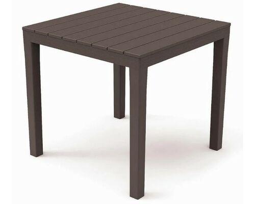 Стол BALI 78x78x72 коричневый - Фото №1