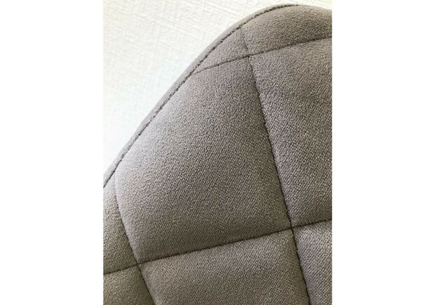 Стул обеденный DIAMOND (Даймонд) велюр теплый серый - Фото №2