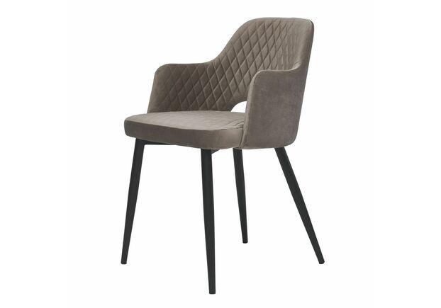 Кресло обеденное JOY Джой теплый серый - Фото №1