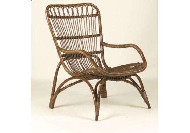 Кофейный комплект CRUZO Дрим столик +2 кресла/натуральный ротанг  - Фото №2