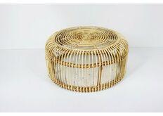 фото Кофейный столик Лита из натурального ротанга