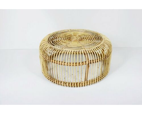Кофейный столик Лита из натурального ротанга - Фото №1
