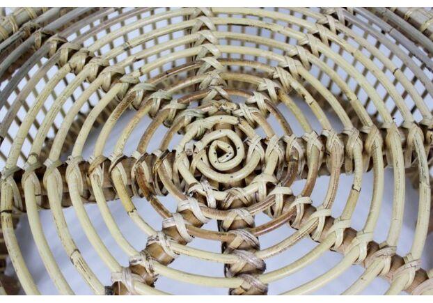 Кофейный столик Лита из натурального ротанга - Фото №2