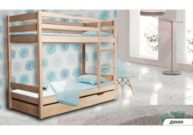 Двухъярусная кровать Донни 80х190 дерево - Фото №1