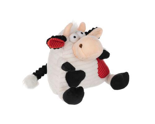 Мягкая игрушка Корова/Бык (черно-белый) 18см - Фото №1