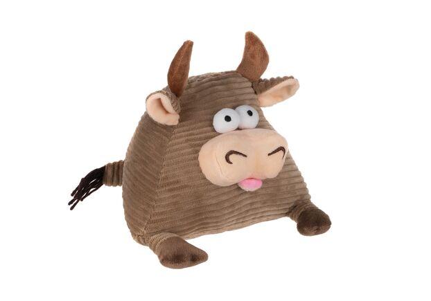 Мягкая игрушка Корова/Бык (коричневый) 16см - Фото №1