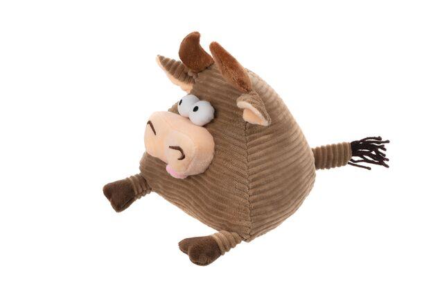 Мягкая игрушка Корова/Бык (коричневый) 16см - Фото №2